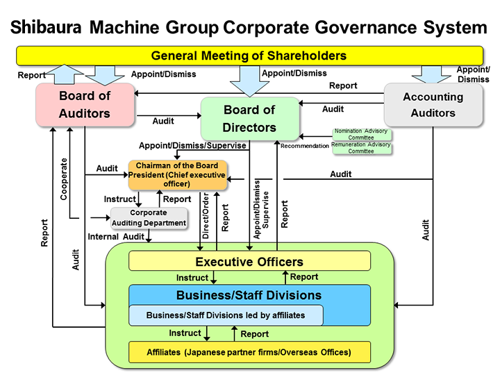 Overview of the Corporate Governance System