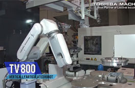 Toshiba Machine robots automation systems at IPF